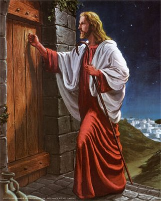 revelation323.jpg & Jesus Said: I Stand at the Door and Knock: If Any Man Hear My Voice ...